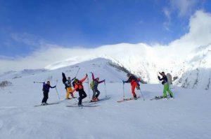 Ski touring, Rishiri