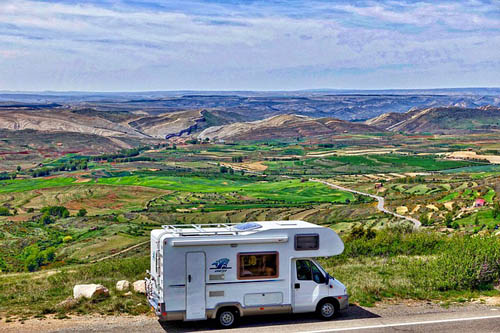 RV with view
