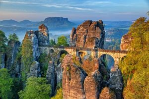 Bastei Bridge, Switzerland