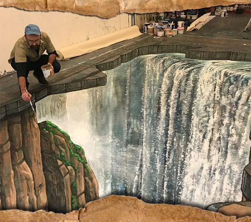 Victoria Falls artwork
