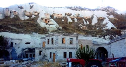 Cappadocia with snow