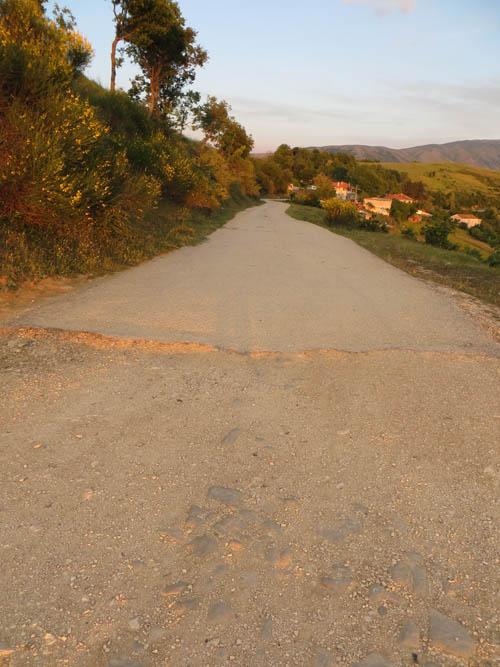 Central Albania road