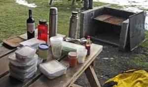 Chilean picnic, Patagonia