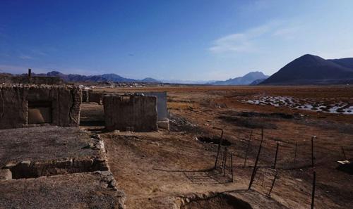 Pamir region between Kyrgyzstan-Tajikistan