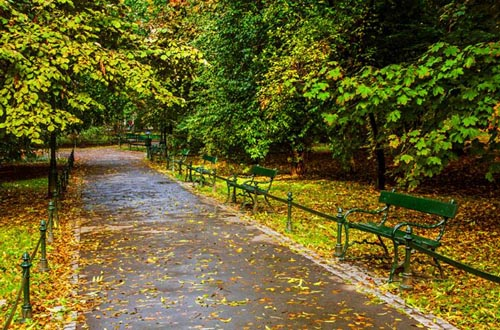 Planty Park, Krakow