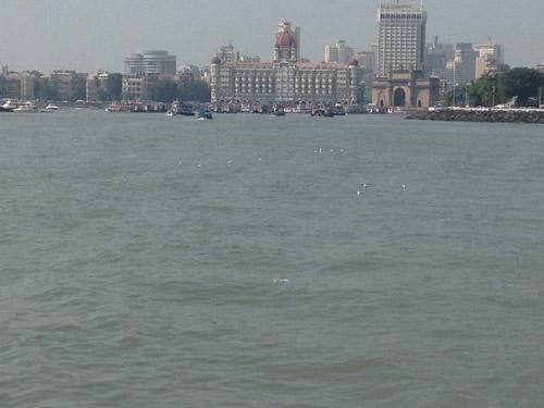 Mumbai from the sea