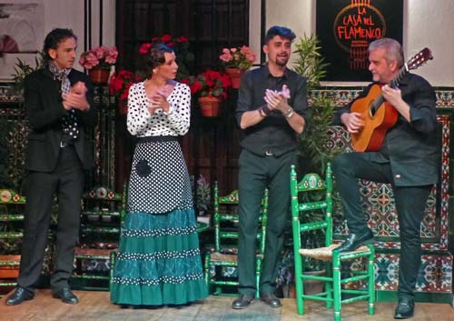 Flamenco musicians, Seville