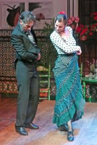 Flameco dancers, Seville