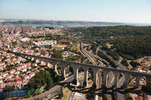 Lisbon aquaduct