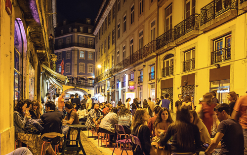 Portugal by night