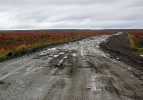 The new Tuktoyaktuk Highway