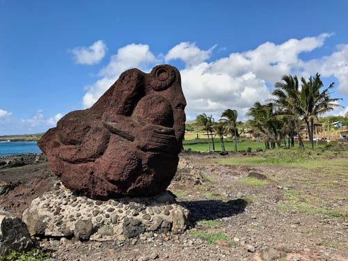 Easter Island sculpture