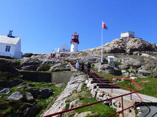 Lindesnes lighthouse, southern Norway