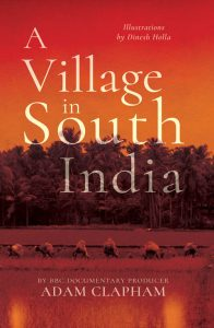 Book cover, a small village in South India