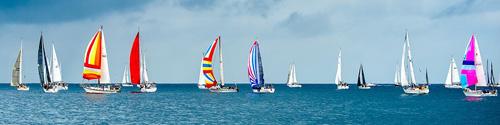 Yachts under sail
