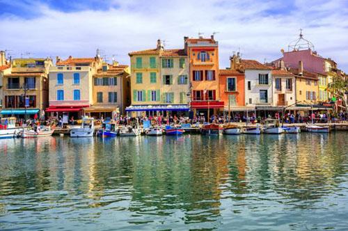 Cote d'Azure waterfront