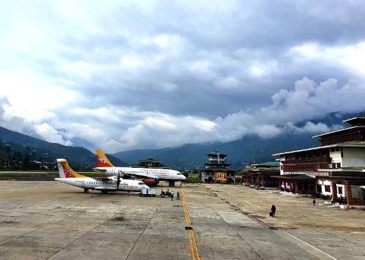Paro Airport, Butan
