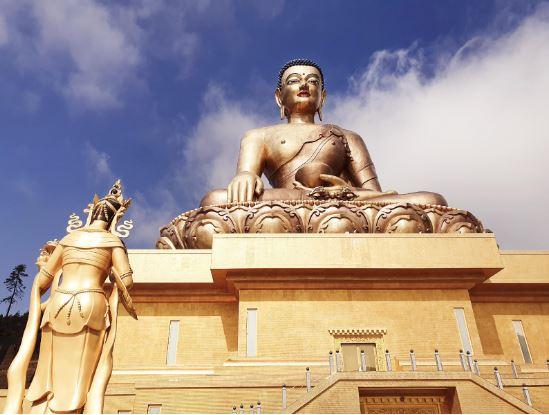 Giant Dordenma Bronze Buddha - Thimphu