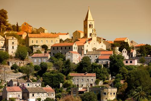 Lastrovo Old Town, Croatia