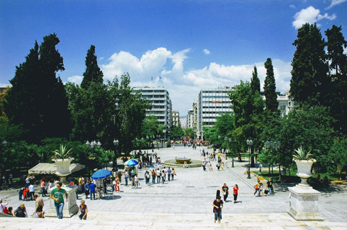 Syntagma Square and The Tomb of the Unknown Soldier