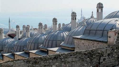 Mosque roofs, Istanbul