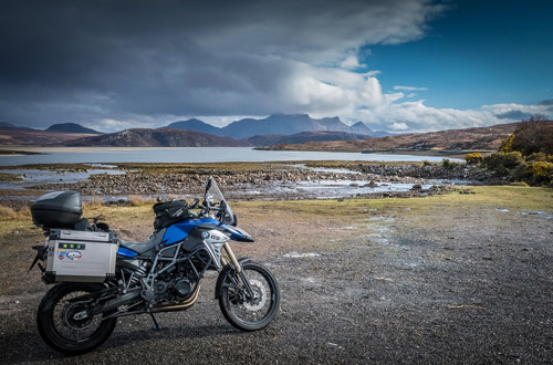 Motorcylcling Scotland