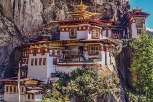 Bhutan tigers nest temple