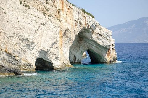 Greek coast