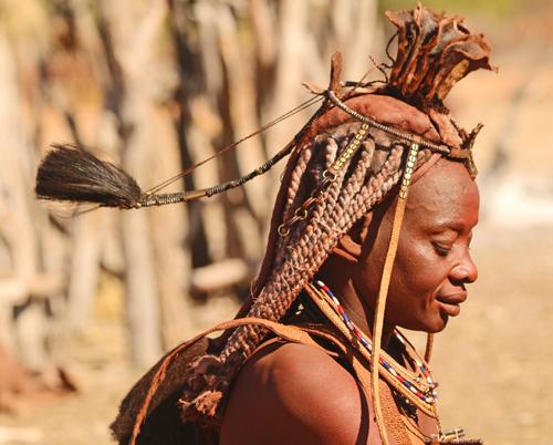 Himba woman, Angola