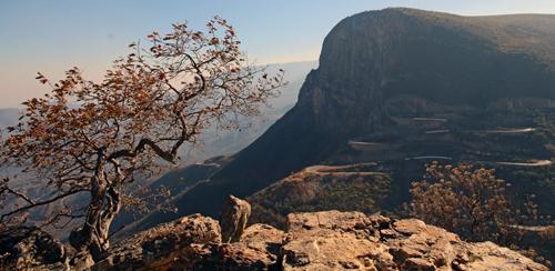 Serra del Laba pass, Angola