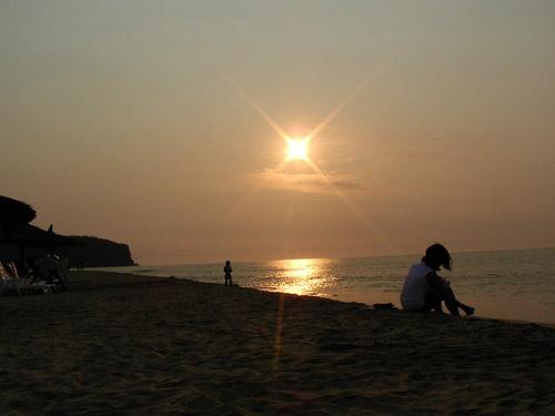 Angola sunset