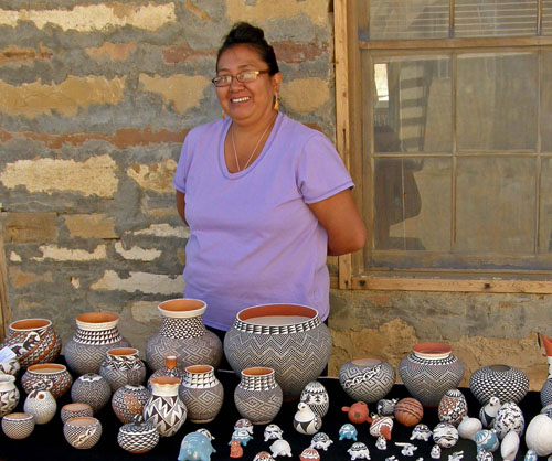 New Mexico handicraft vendor