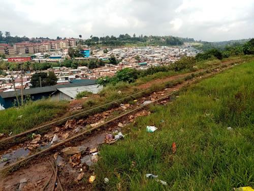 Kibera slum Nairobi