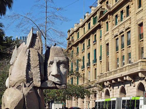 Mapuche sculpture